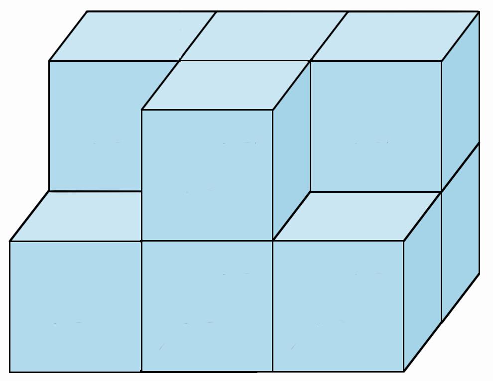 【活动目标】 1.通过对小正方体的拼摆,让孩子知道怎样用几个小正方体摆成大正方体。 2.通过对拼摆所用小正方体数量的计算,为以后学习正方体的体积打基础。 【活动指导】 活动内容 1.用小正方体拼出各种立体图形。 2.用小正方体拼成一个大正方体。 活动准备 小正方体积木(或其他正方体物体)若干个。 活动过程 1.根据正方体的特点对图形进行判断 (1)说一说正方体6个面的特点。   (2)判断一个立体图形是不是正方体。    2.拼摆大正方体 (1)用小正方体拼大正方体。