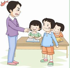 老师可以随意体罚,叱(chì)骂未成年学生吗?图片
